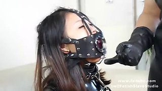 Follow my tw: fetishslavestudio tickling pony girl on latex