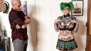 Sydnee Vicious in Sydnee Vicious - Cum On My Tattoo, Scene #01 - BurningAngel