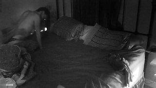 Messaging and fucking my wife on hidden cam