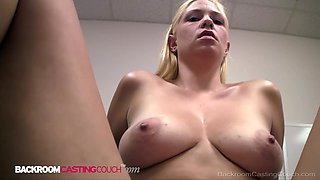 Curvy Cutie Stacy Gets Pounded For A Porn Job But There Aint NO Job!