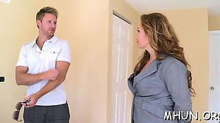 Chap manages to seduce mother i'd like to fuck for wild fuck