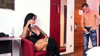 german bdsm fetish userdate with big tits tattoo domina