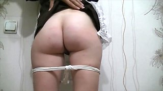 BDSM fetish schoolgirl was punished and badly fucked