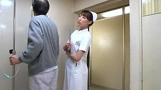 Exotic Japanese model Aya Sakuraba, Yuri Aine, Yu Kawakami in Amazing Nurse JAV movie