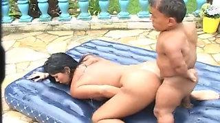 Japanese fucking midget