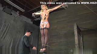 Tossed up beauty is punished