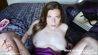 Son fuck drunk busty mom