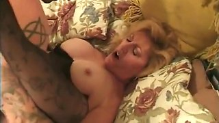 Sexy son banging his mother and her sister