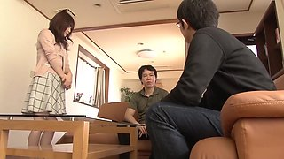 Fabulous Japanese whore Miki Shibuya, Miyu Kotohara, Asuka Kyono in Hottest rimming, wife JAV movie
