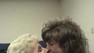 Check My MILF granny slurping on jizz