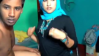 Crazy Homemade video with Indian, Couple scenes