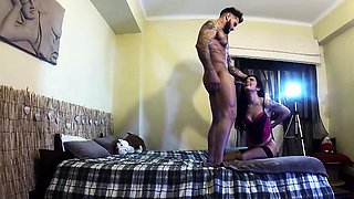 This cute Portuguese chick is a bit of an exhibitionist
