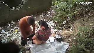 Indian Couple Fucking In Open