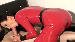 Horny latex couple 1