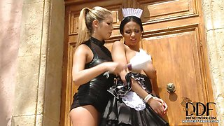 French Maid Gets It In Her Ass