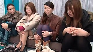 Amazing JAV Censored scene with Threesomes,Public scenes