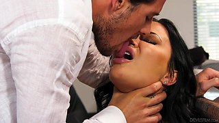 busty milf seduced her horny boss to get a promotion @ big tit office chicks #06