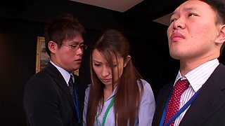 Nao Yoshizaki in Sex Slave Office Lady part 1.1