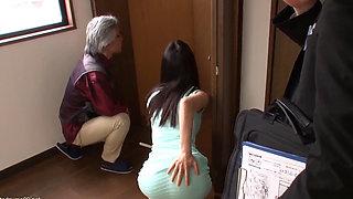 The Realtor fucks this sexy Asian Wife 2