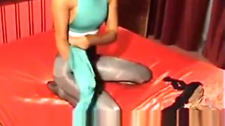 nylonmichelle pantyhose encasement multilayer