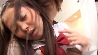 Horny school girl Hinayo Motoki juicy part4