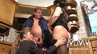 MMVFilms Video: Mature Threesome