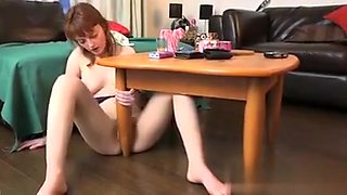 My Affair On Cheat-Meet.Com - Rubbing On Table