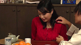Japanese Old Husband And His Young Wife Fucked By Their Child's Young Teacher