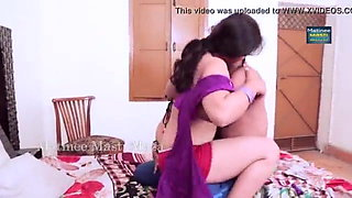 Indian couple love making