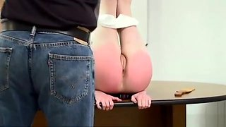 3 Girls Punished with Hand and Strap (Part 3 of 3)