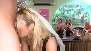 Even The Bride To Be Gets in on the Blowbang