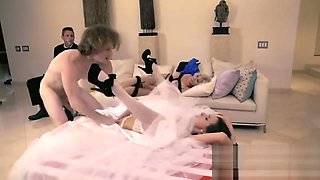Bride Ashley Adams Gets Banged Before Wedding