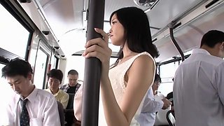 Hottest Japanese whore in Incredible Public, Cougar JAV movie