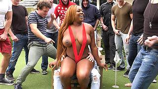 Big Ass Ebony Jayden Starr Let All The Fellahs Hit That Wet Pussy