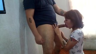 deliveryman wanting to fuck. I stop his cock in seconds