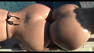 Juicy Fat Ass Cougars Love An Anal Threesome