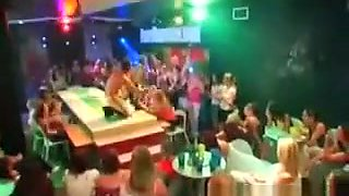 Strippers Get Wild At Cfnm Orgy