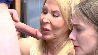 Blonde college girl first timer xxx Both grandmother and sus