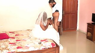 Bride Fucked by Ex Boyfriend on Her Wedding Day - NOLLYPORN