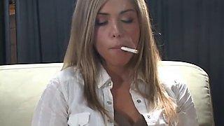 Sandra smoking 2