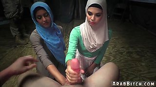 Muslim amateur and sexy arab girl fucked xxx Sneaking in the Base