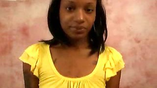 Naughty teen ebony girlfriend