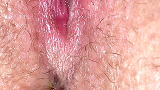 Closeup pussy masturbation orgasm