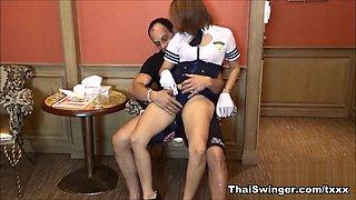 Thai Air Hostess - ThaiSwinger