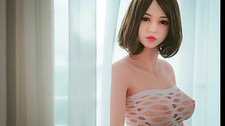s curved lady doll