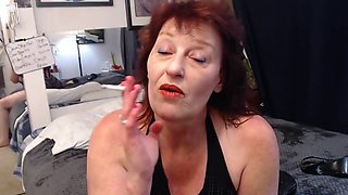 V251 SexBomb Dawn in a new cum in my dirty mouth, with countdown