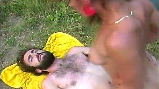 Classic Pornstars Fucking Outdoors
