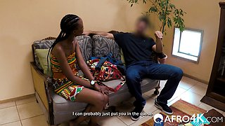 Amateur African Deep Throat Casting