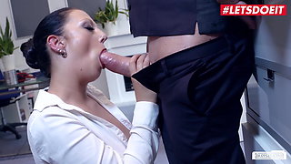 LETSDOEIT - Kinky German Secretary Banged Hard By Her Boss