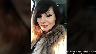 She showed her naked body for a boss at job interview